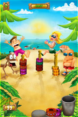 Screenshot iBeach Ring Toss