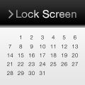 Lock Screen Calendar - カレンダー壁紙